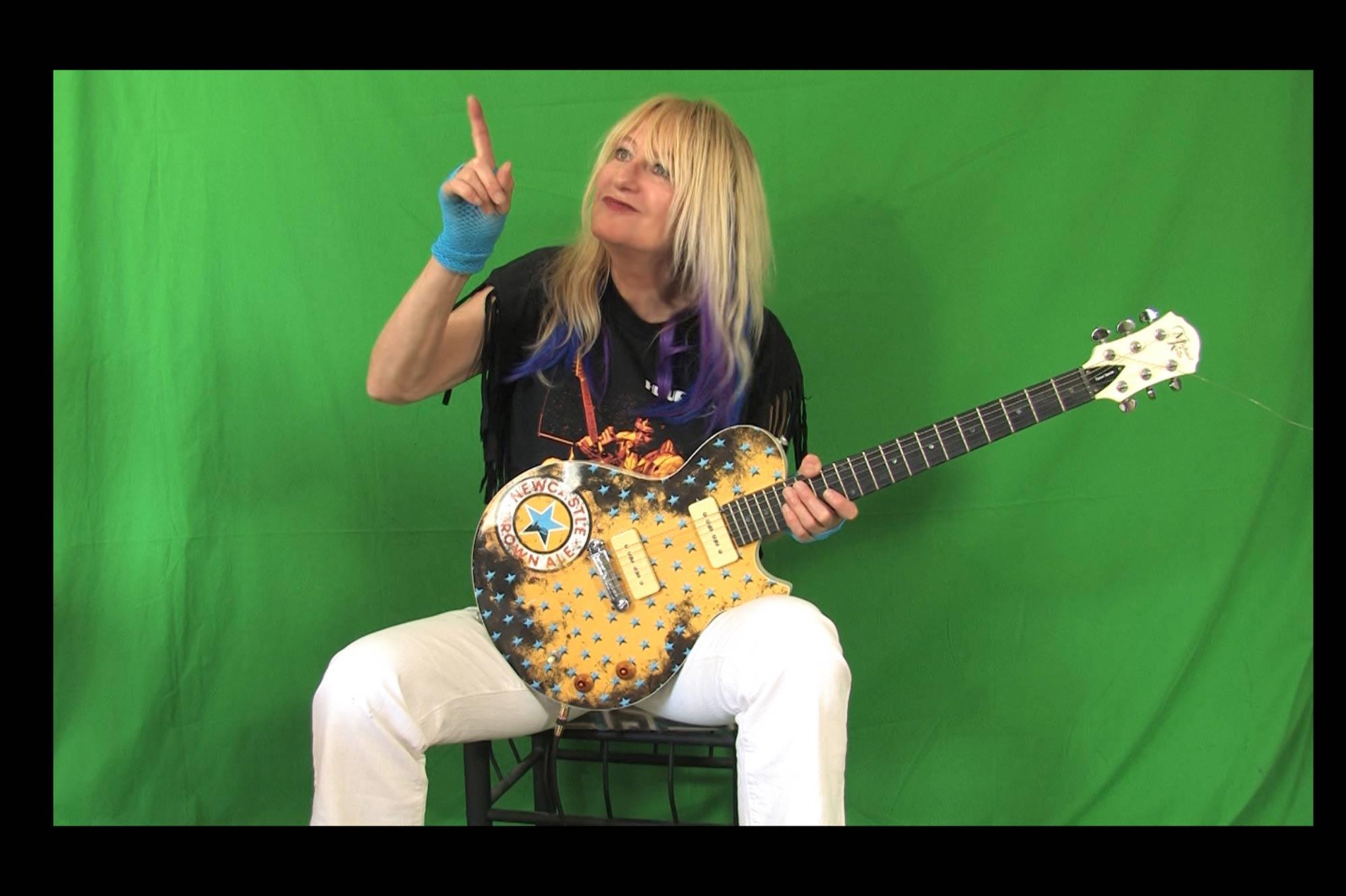 Blues Guitar with Female Guitarist Shredmistress Rynata