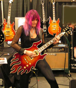 Shredmistress Rynata at Namm